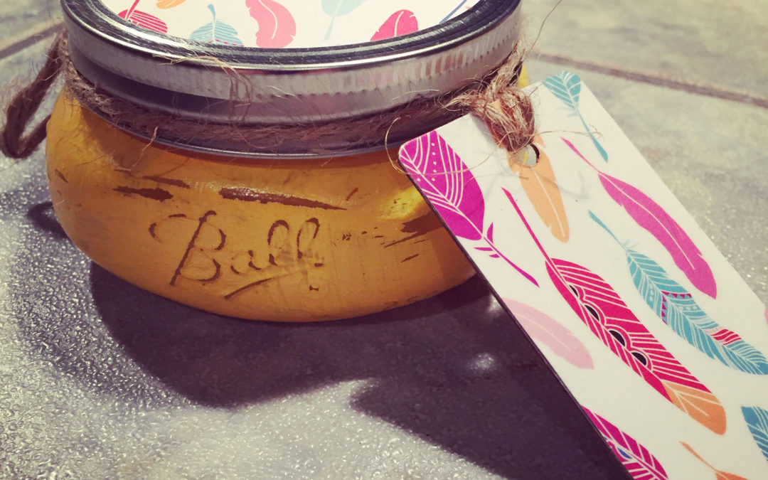 DIY: Mason jar packaging