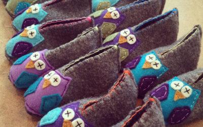 DIY: Wool sweater booties