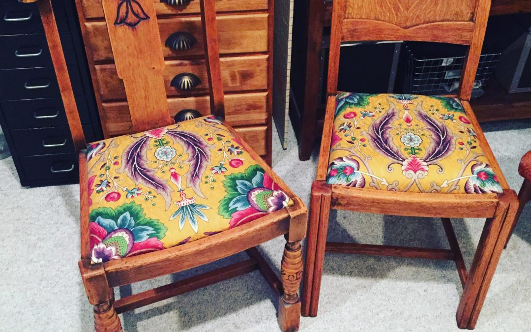 DIY: Junk chair refresh